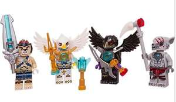 [Lego Shop] LEGO Legends of Chima Minifiguren-Zubehör-Set (4 Figuren) für 12,59€ statt ca. 15€