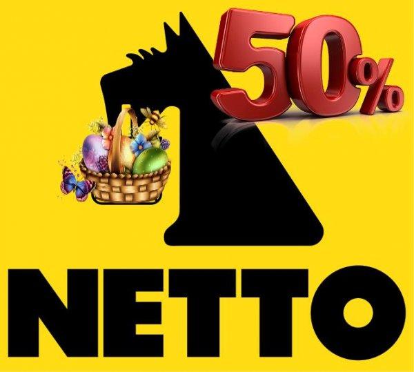 [Netto mit dem Scottie] 50% auf alle OsterSüßwaren