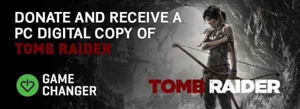 Tomb Raider (2013) Steam Key durch Spende an Game Changer