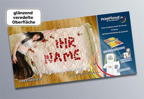 [printplanet.de] Kostenlose selbstgestaltete Postkarte verschicken