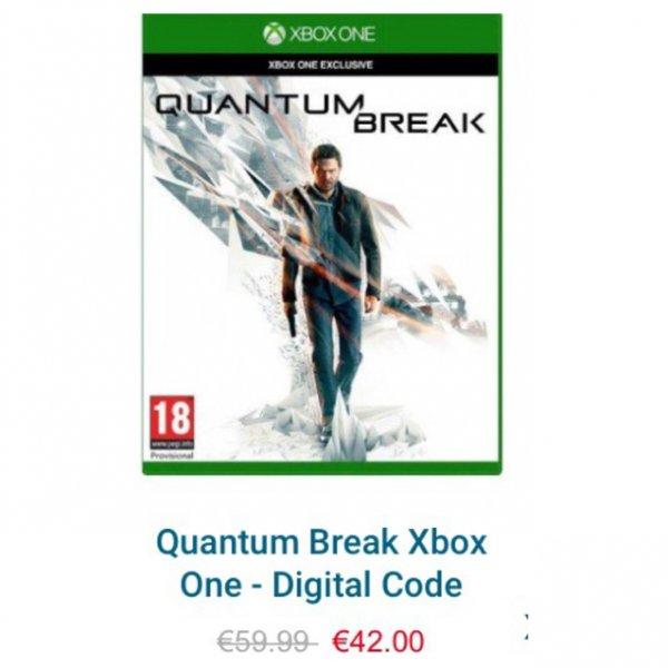 Quantum Break für Xbox One (DLC) Hammer Preis