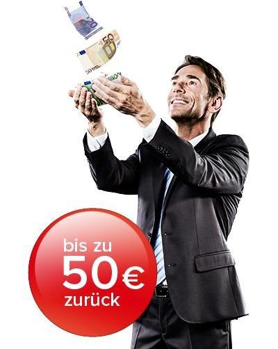 Kyocera 50€ zurück zum Spenden oder Sparen