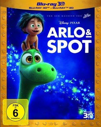 [Mainz,Alzey,Bischh.]Arlo und Spot 3D Blu Ray 19,00€, 2D 12,90€ DVD 9.90€