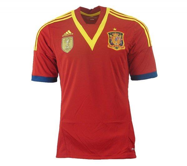 adidas Home Jersey Spanien Herren-Trikot für 7,99 € [Outlet46]
