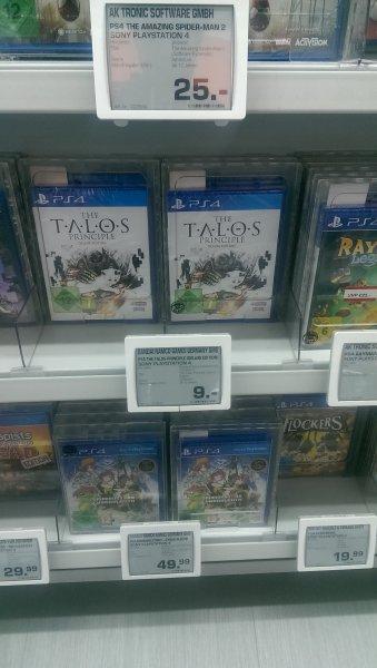 The Talos Principle - Deluxe Edition PS4 9€ @Saturn Spandau Arcaden