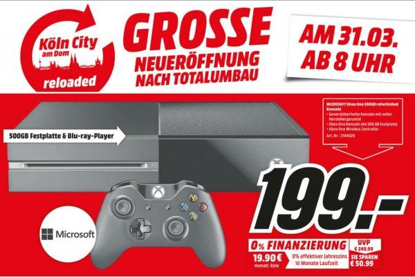 (MM Köln City) Xbox One 500GB Refurbished 199€
