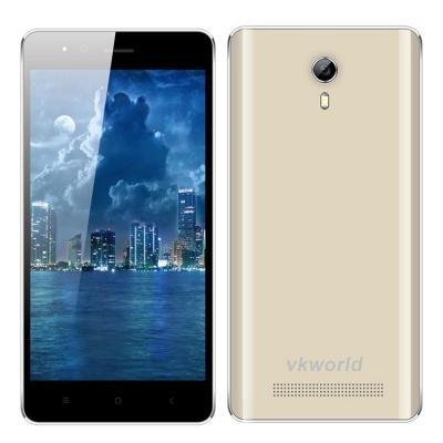 VKWORLD F1 MTK6580 1.3GHz Quad Core 4.5 Zoll IPS FWVGA Bildschirm Android 5.1 3G Smartphone