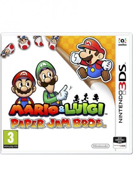 Mario & Luigi: Paper Jam Bros. [3DS] inkl Vsk für ca. 25,53 € > [base.com]
