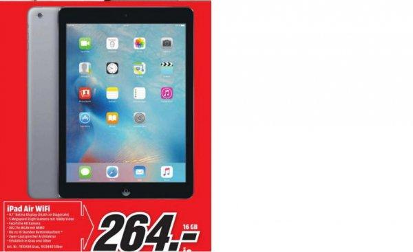 MM München iPad Air 16gb WiFi für 264€