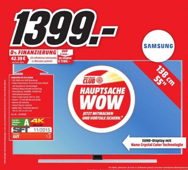 [Lokal] Media-Markt Dortmund UE55JS8090 nur am 31.03.2016