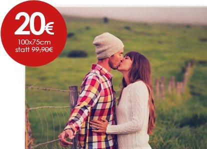[meinfoto] Leinwand 100x75 für 20€ + 6,90€ Versand