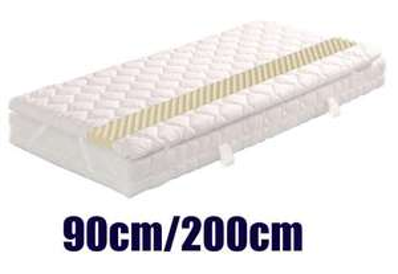 [3% Qipu] Wolkenkind Boxspringmatratze 7-Tonnentaschen-Federkern diverse Größen z.B. 90 cm / 200 cm Höhe 24 cm + Matratzentopper (Boxspring) Höhe 5 cm für 259€ frei Haus @Dealclub