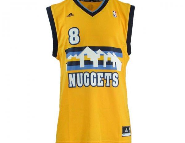 [Outlet46] Denver Nuggets NBA Trikot von Adidas Gr. XXS-XL für 9,99 €