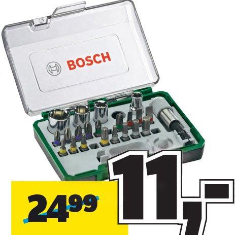Bosch 27-teiliges Ratschen-Set am 08.04. zum Bestpreis für nur 11€ bei [Conrad]
