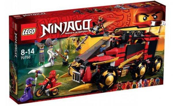 [Spielemax.de] Lego Ninjago 70750 Mobile Ninja-Basis (EOL) für 63,99€ bei Filialabholung statt 95€ - wieder komplett verfügbar