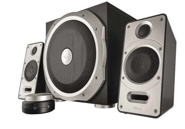 (Amazon Prime) Trust Byron 120W 2.1 Lautsprecherset mit Subwoofer