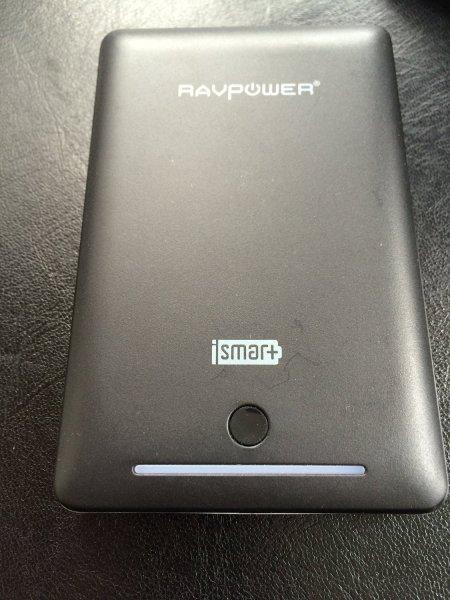 (Amazon Prime) Sehr gute Powerbank RAVPower 13000mAh 4,5A  5 Sterne bei Amazon