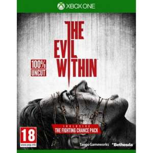 [grooves-inc.de] Xbox One | The Evil Within für 13,69€ inkl. Versand