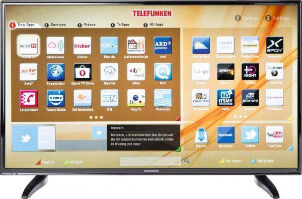 LED-Fernseher 102 cm 40 Zoll Telefunken D40F287A3CW bei Conrad Stuttgart