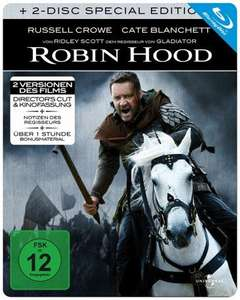 [Media-Dealer] Robin Hood - Director's Cut Steelbook (2 Blurays) für 7,98€