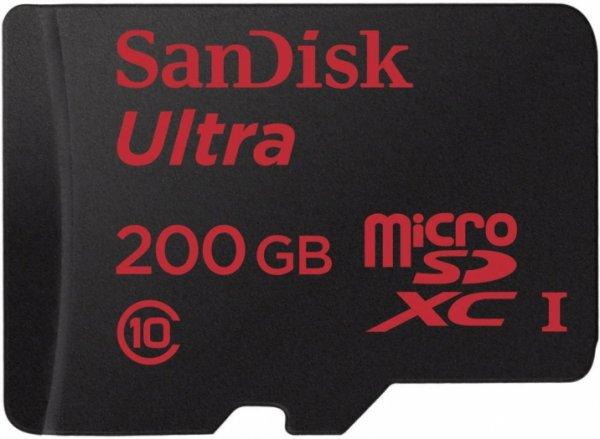 [Digitalo] SanDisk microSDXC-Karte 200 GB Ultra für 80,05€ inkl. Versand