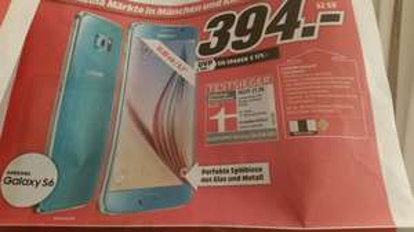 Samsung S6 32GB | Media Markt München | 394€