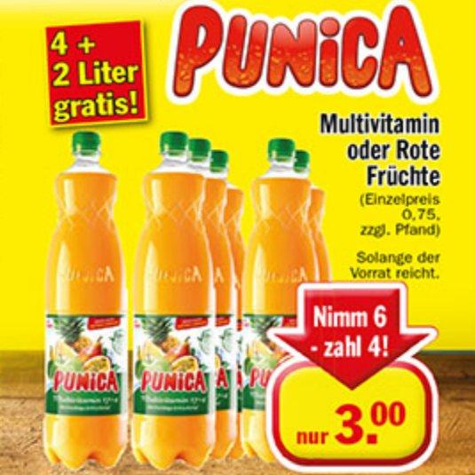 [ZIMMERMANN] KW14: 6x Punica Multivitamin//Rote Früchte 1,0l  für 3,00€ (=0,50€/Flasche)