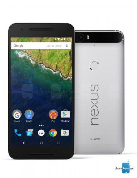 Nexus 6P 32GB Aluminium 509,90€ incl. Versand bei Rakuten