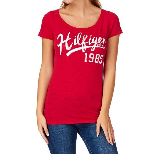 Hilfiger Denim T-Shirt »Lala« (versch.Größen und Farben) für 14,90€ bei OTTO incl.Versand