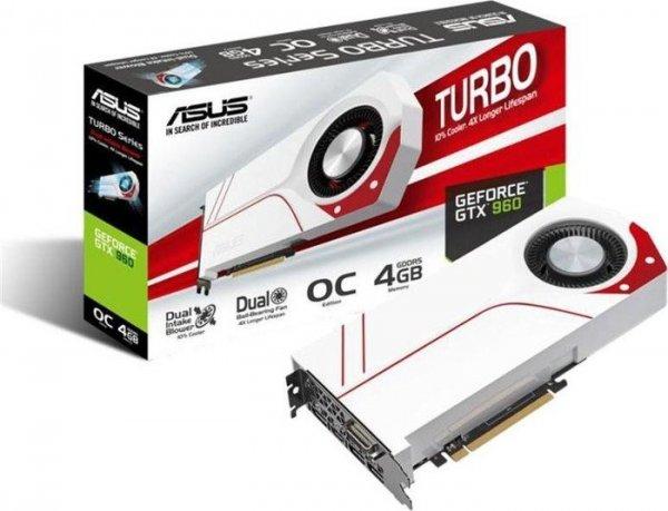 [ebay Alternate] Asus GTX 960 Turbo OC 4GB GDDR5 (DVI, HDMI, 3x DisplayPort) für 189€
