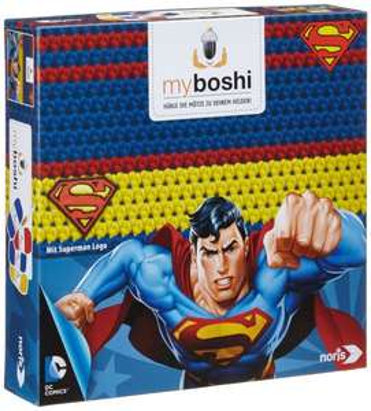 Noris-Spiele - Myboshi Superhelden - Superman, Häkel-set für 7,70 EUR