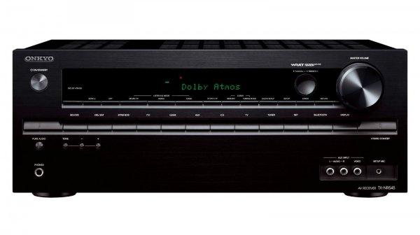 Onkyo TX-NR545 7.2 Netzwerk AV-Receiver 4K Dolby Atmos WiFi Airplay schwarz @Ebay WOW für 239€