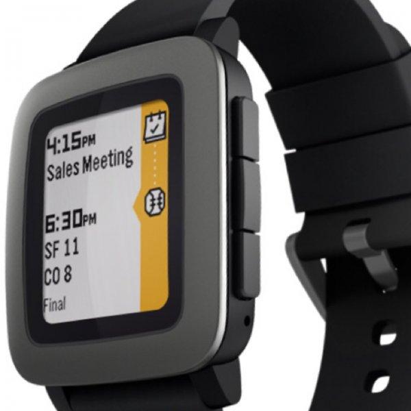 Pebble Time (Schwarz) für 129€ auf Amazon UK