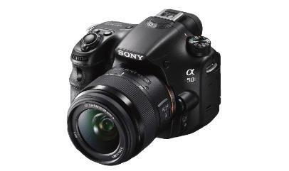 Sony SLT-A58K Spiegelreflexkamera Kit mit 18-55mm Objektiv nur im Saturn Duisburg für 319€