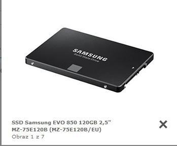 Samsung 850 Evo 120 GB für 25€