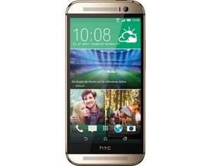 HTC One M8 Gold oder Red  (5Zoll IPS Full HD Display , Android 6.0 , Micro SD , Snapdragon 801 Quad-Core (2,3 GHz) uvm.) @ NBB