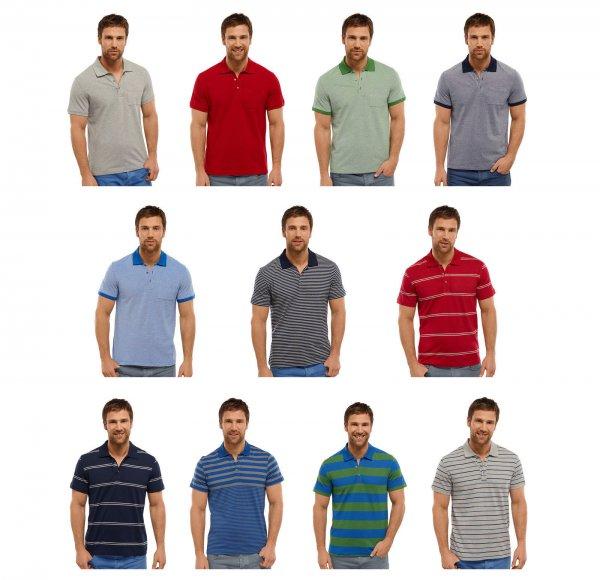 Schiesser Herren Poloshirts für 14,95 oder 12,70€ wenn man 3 Stück nimmt! bei ebay , 100% Baumwolle