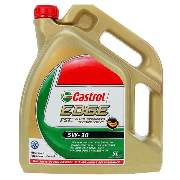 Ebay: 5 L LITER CASTROL EDGE FST™ 5W-30 MOTOR-ÖL VW/AUDI Freigabe