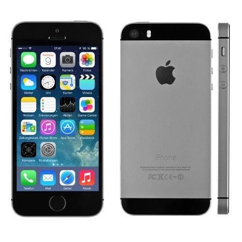 [eBay asgoodasnew Preisvorschlag 249€]Apple iPhone 5s 32GB spacegrau ohne Vertrag generalüberholt