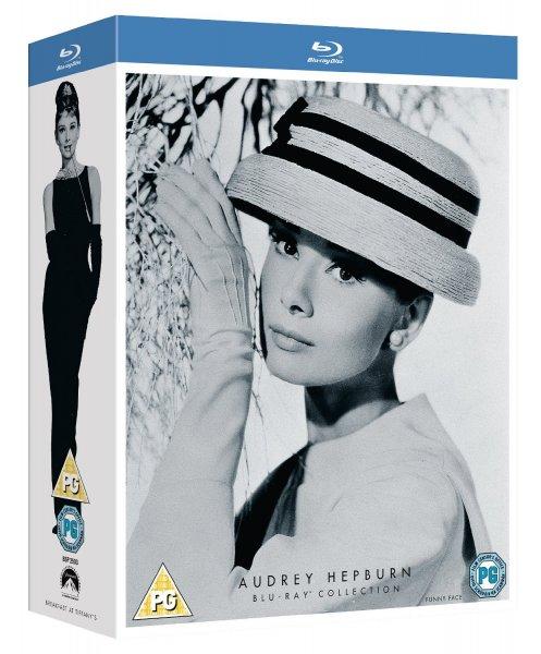 """[Zavvi] Audrey Hepburn Movie Collection: """"Frühstück bei Tiffany"""" + """"Ein süßer Fratz"""" + """"Sabrina"""" (Bluray) (dt. Tonspur) für 12,60€"""