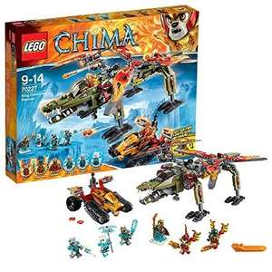 [Amazon] Lego Legends of Chima 70227 - König Crominus Rettung 47,28 €