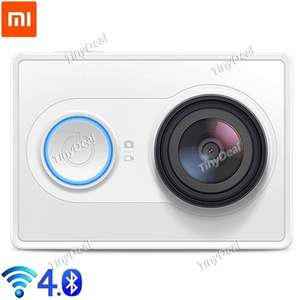 (tinydeal) Original XiaoMi Yi Ambarella A7LS 16MP Full HD Sports Action Kamera 60,62€ bzw. 72,14€ mit EuSt