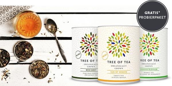 [ Tree of Tea ] Für 10€ Tee kaufen und und 3 Teesorten Gratis dazu!