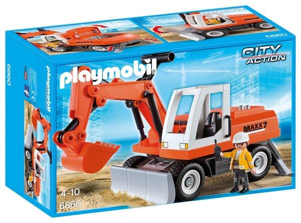 [Amazon Prime] Playmobil (6860) Schaufelbagger mit Räumschild für 12,81€ statt ca. 20€ [Update]