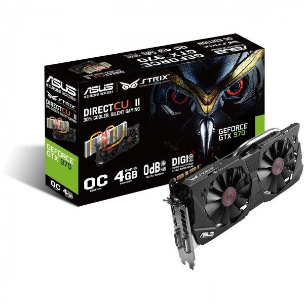 (Mindfactory) Asus GeForce GTX 970 STRIX OC Edition