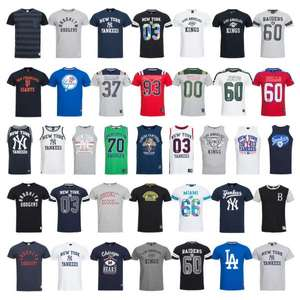 [Ebay Wow] Majestic Athletic Herren T-Shirts NFL NHL MLB Größe XS-2XL für 13,99 €