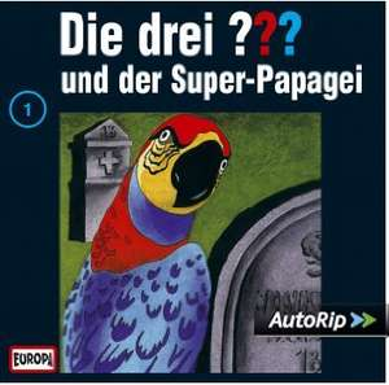 Die drei Fragezeichen und der Super-Papagei bei Spotify und weitere Folgen