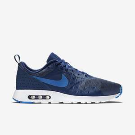 [Nike] Nike Air Max Tavas Blau/Schwarz Leder und Blau Normal für 57,6€