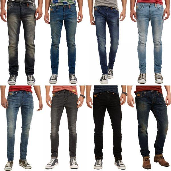 Superdry Herren Jeans 13 Modelle/Farben für 34.95 @ebay Deal im Superdry-Store // Idealo 80€+