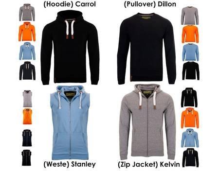[allyouneed] Multideal: Indicode Pullover, Hoodie, Hoodieweste, Zip Jacket ab 18.45 € inkl. Versand wieder da